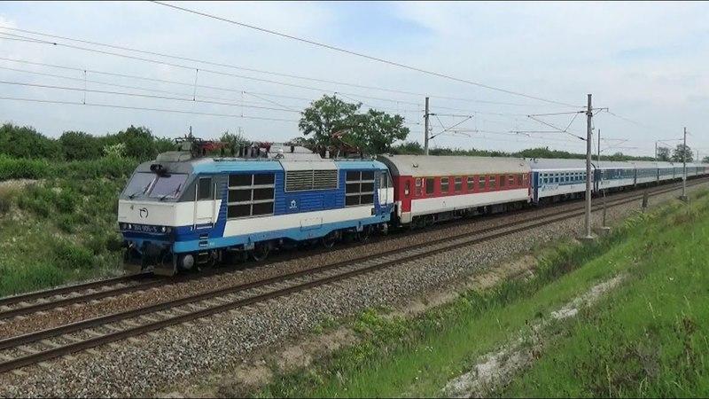 Vlaky Šakvice - u trati 25.5.2018