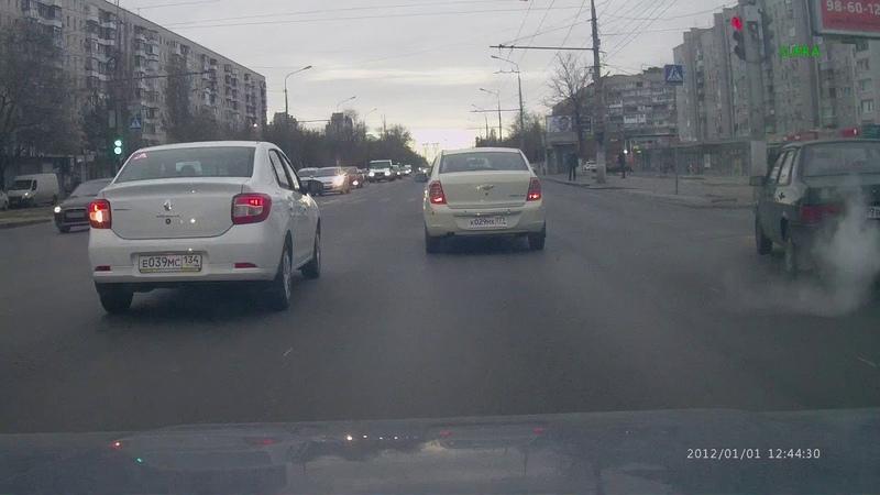 В следующий раз повезет .Дтп Волгоград