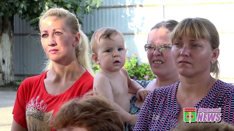 Сход на хуторе Коваленко 01 08 18 Видео: Абдрахманов Игорь