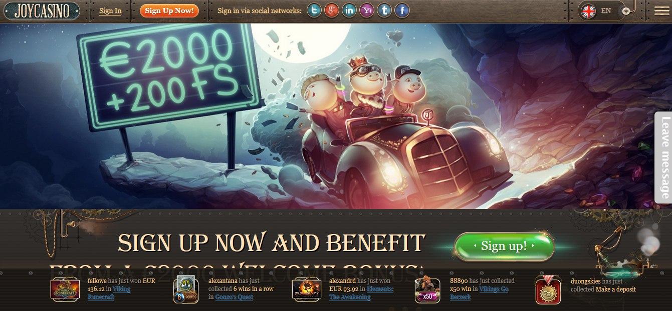 джой казино официальный сайт бонус при регистрации
