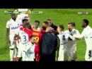 Футболисты французского клуба расстроились из за поражения и подрались во время матча