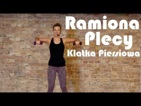 Ramiona, Plecy, Klatka Piersiowa- trening ujędrniający || GÓRNE PARTIE CIAŁA 2