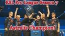 Astralis champion 🏆 ESL Pro League S7 champions Grand Final vs Team Liquid Winning moment CyberWins