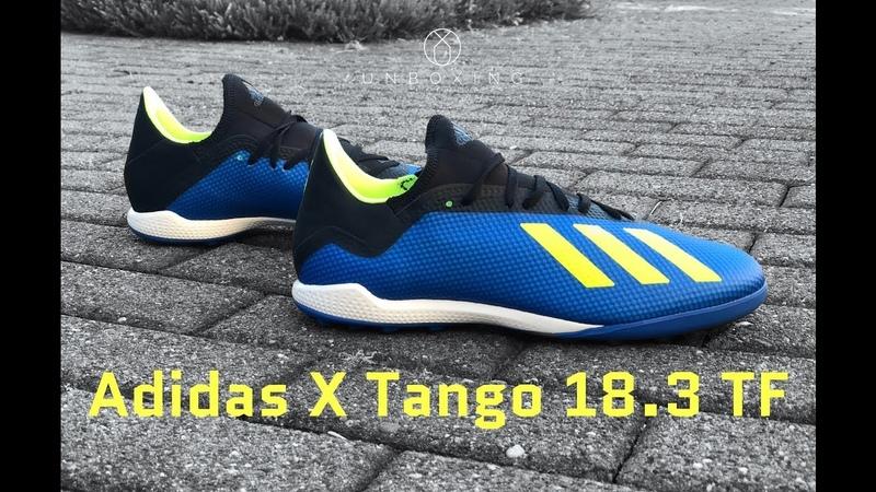 Распаковка и примерка Adidas X Tango 18.3 TF 'Energy Mode Pack'