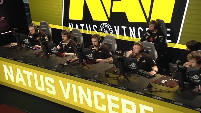 [Обсуждению Не Подлежит] НАВИ рофлят против СК | NaVi vs SK Gaming. Game №1.de_cobblestone [RU] | SL i-League S4
