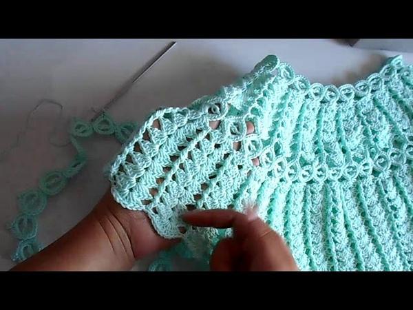 Blusa a crochet - ganchillo - tejida para dama - facil y rapido - parte 2