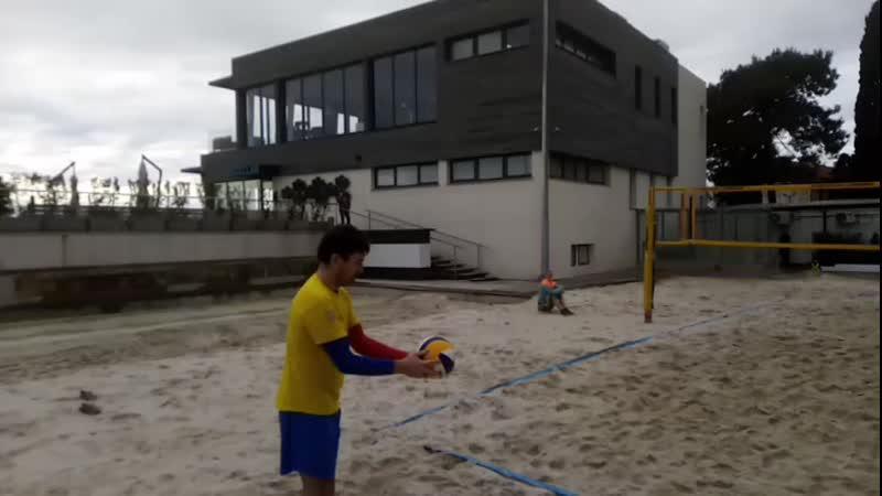 Кадры из турнира Песочный мяч