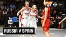 Russia v Spain - 3rd Place - Women's Full Game - FIBA 3x3 U18 Europe Cup 2018