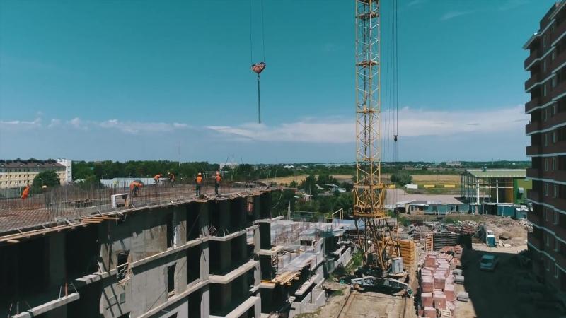 Ход строительства РСК Май 2018