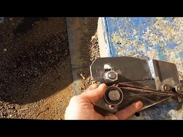 Роликовые ножницы по металлу Как зделать