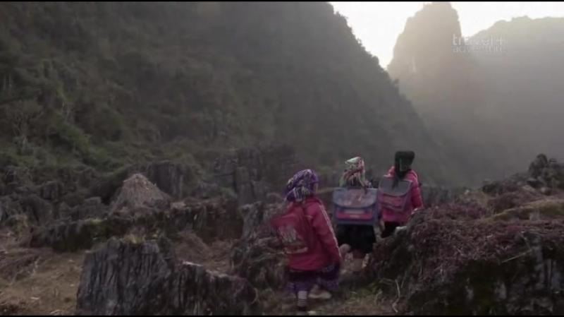 Дорога в школу. Вьетнам - Les chemins de l ecole 2017