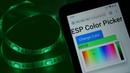 ESP32/ESP8266 RGB LED Strip with Color Picker Web Server