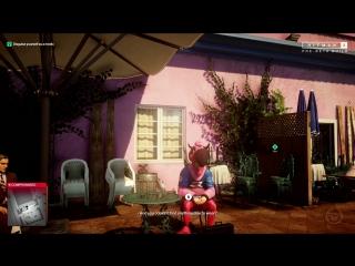 35 минут геймплея Hitman 2 — миссия в Майами