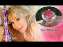 Barbara Eden Estate Pigeon Blood Red Ruby Diamond Ring SEE VIDEO $9,114