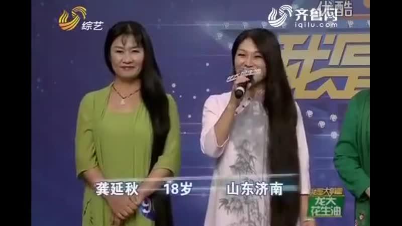 Amazing long hair ladies dance on tv show. 10.VII.2017.