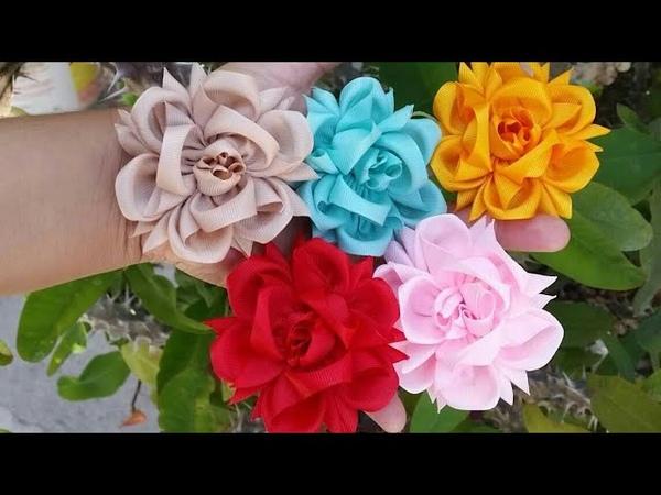 Flor exótica de listón VIDEO No.35 curiosidades Angela peralta