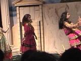 Bandari dance at children's Farsi school graduation, Dallas, May 2002