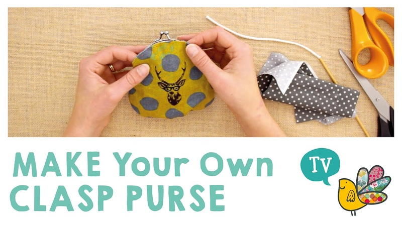 Make your own Clasp Purse