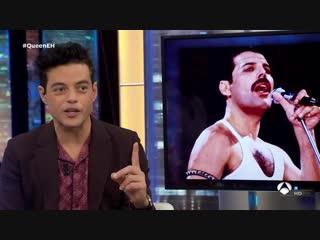 Rami Malek lanza un mensaje para todos los fans de Freddie Mercury - El Hormiguero 3.0