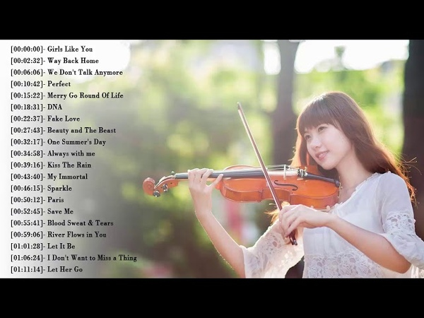 Best Instrumental Violin Covers All Time - Top 50 Covers of Popular Songs 2019