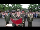 Новобранцы приняли военную присягу