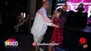 Mario Hazarika and Anastasia Morozova Salsa Dancing at After Party of The Third Front 06.08.2018