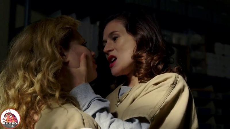 Lorna Morello and Nicky Nichols Love Scenes Orange Is The New Black S5 Ep6