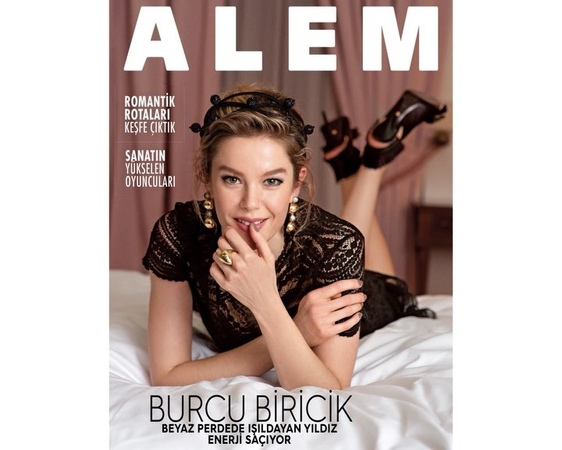 """Burcu Biricik on Instagram @alemdergisi 'nde bu hafta kim varmış 🤔🥳🧚♀️"""""""