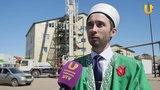 UTV. Минарет уфимской мечети установили на пожарный выход