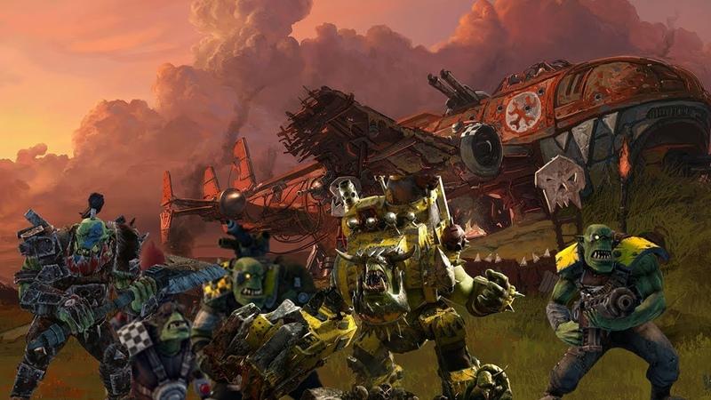 Dawn of War — Dark Crusade Конец компании за Орков