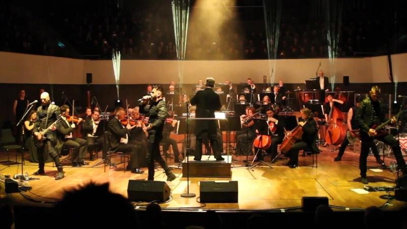 Oomph! Das Weisse Licht with Symphonie Orchestra Zielona Góra GOTHIC MEETS KLASSIK 2017 1