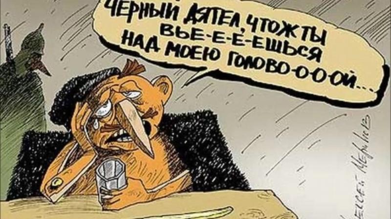 Весёлые картинки и карикатуры про Буратино.