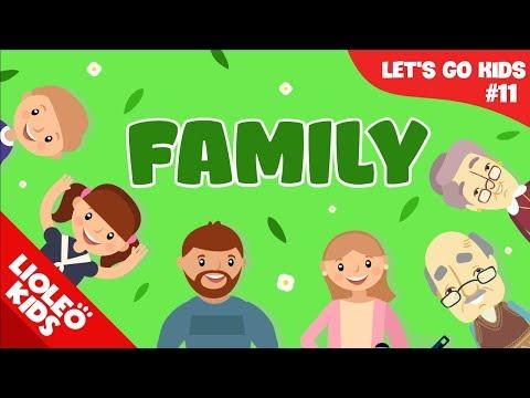 Tiếng Anh cho bé qua sách Let's Go 11 Gia đình Family Lioleo Kids