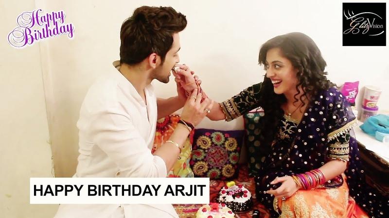 Arjit Taneja- празднование дня рождения с Aditi Sharma | Kaleerein