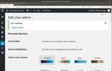 WordPress Design Flaw Demonstration