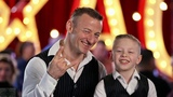 Сын и отец из России на шоу талантов супер выступление