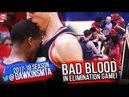 Pelicans vs Blazers BAD BLOOD Play 2018 WCR1 Game 4 - Elimination Game INTENSITY! FreeDawkins