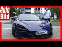 McLaren 720S (2017) Supersportler im Alltagstest / Review / Erklärung