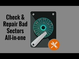 Check &amp Repair Bad Sectors All-in-one (Data Recovery Partition Manager Disk Utilities)