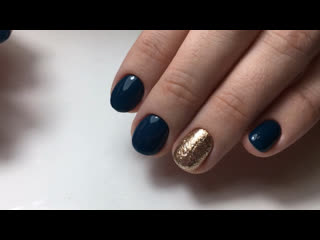 Синий + золото. Ксения Серебреникова