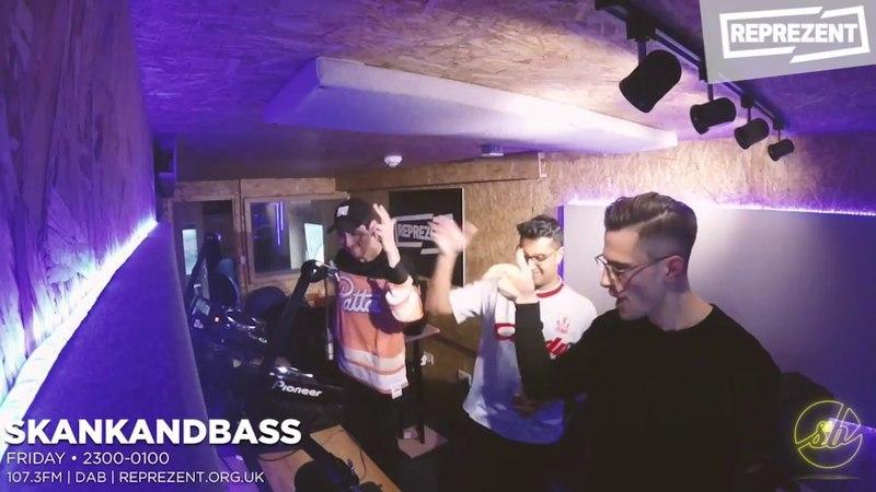 Skankandbass on Reprezent - 007 - Bredren Guest Mix