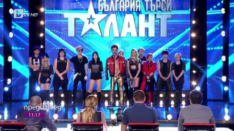 Bang Bang Bang cover on a bulgarian tv show by a local dance group - - the topic of the show was the kpop music an how it became