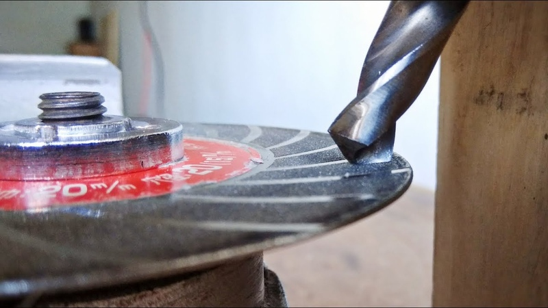 Angle Grinder Hack    Make Drill Bit Sharpner Tools