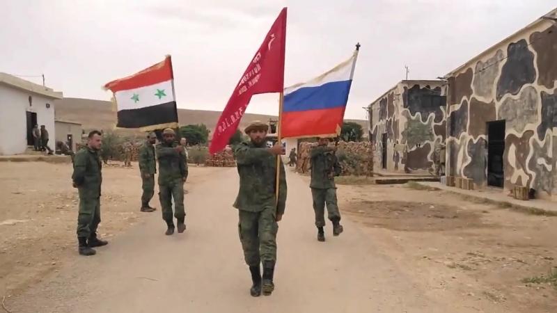 Аль-ватани -- сирийские ватники (9 мая 2018)