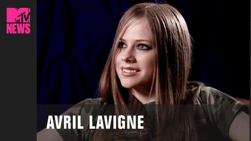 Avril Lavigne Before Sk8er Boi In First MTV Interview 2002