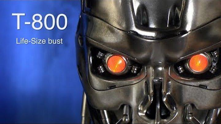 Terminator T-800 :: Life-size bust от компании Sideshow