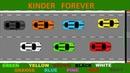 Учим цвета на английском языке с супер гоночными машинками