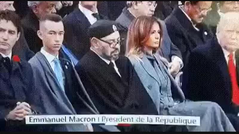Шок-контент 18 Король Марокко Мухаммед VI спит с Меланией Трамп прямо на глазах у её мужа Дональда Трампа!
