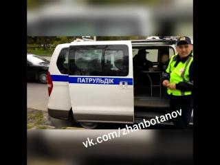 Усть-Каменогорск скрытое патрулирование KZ 557 KP 16