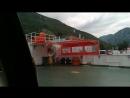 Паром через Бокко Которский залив Черногория лето 2018год